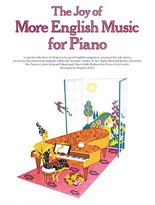 Joy Of More English Music For Piano Partition Piano - laflutedepan