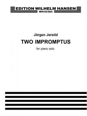 2 Impromptus - Jersild Jörgen - Partition - Piano - laflutedepan.com