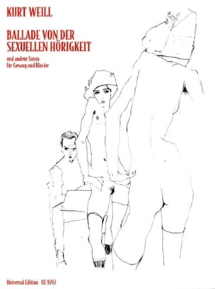 Kurt Weill - Ballade Von Der Sexuellen Hörigkeit et Autres Chansons - Partition - di-arezzo.fr