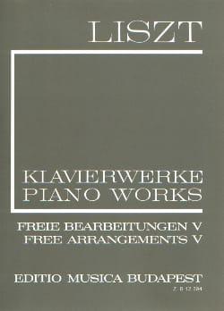 Franz Liszt - Free Arrangements Series 2, Volume 5 - Sheet Music - di-arezzo.com