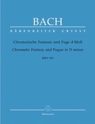 Fantaisie Chromatique et Fugue Ré mineur BWV 903 - laflutedepan.com