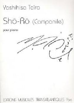 Yoshinisa Taïra - Sho-Ro (Campanile) - Partition - di-arezzo.fr