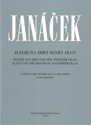 Leos Janacek - Elegy on the Death of his daughter Olga. - Sheet Music - di-arezzo.com