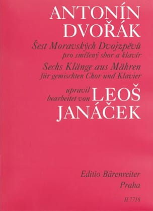 DVORAK - 6 Klänge Aus Mähren - Sheet Music - di-arezzo.co.uk