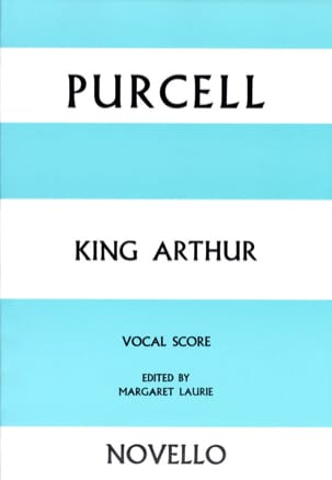 King Arthur PURCELL Partition Opéras - laflutedepan