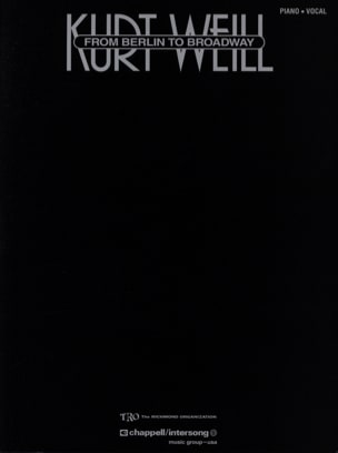 Kurt Weill - From Berlin To Broadway - Sheet Music - di-arezzo.com