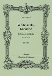 Carl Reinecke - Weihnachts Sonatine Op. 251-3. 4 Mains - Partition - di-arezzo.fr