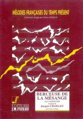 Berceuse De la Mésange - Jacques Chailley - laflutedepan.com