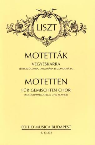 Franz Liszt - 14 Motets - Sheet Music - di-arezzo.com