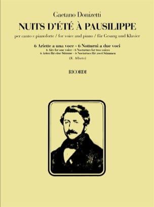 Gaetano Donizetti - Summer Nights In Pausilippe - Sheet Music - di-arezzo.com