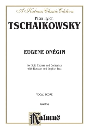 TCHAIKOWSKY - Eugene Onegin Opus 24 - Sheet Music - di-arezzo.co.uk