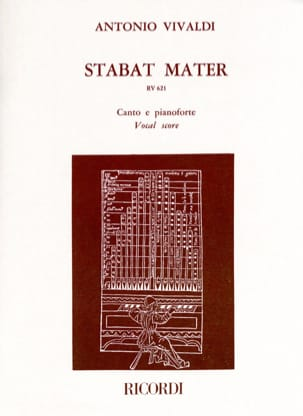 VIVALDI - Stabat Mater RV 621 - Sheet Music - di-arezzo.co.uk