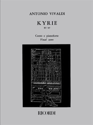 Kyrie - VIVALDI - Partition - Chœur - laflutedepan.com