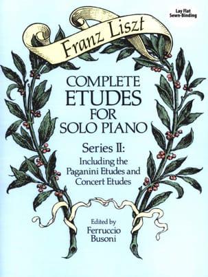 Franz Liszt - Complete Etudes For Solo Piano Volume 2 - Partition - di-arezzo.fr
