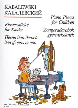 Dimitri Kabalevsky - Piano Pieces For Children. - Sheet Music - di-arezzo.com