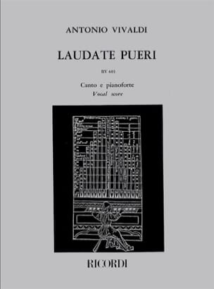 VIVALDI - Laudate Pueri RV 601 - Sheet Music - di-arezzo.co.uk