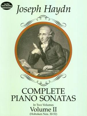 Complete Piano Sonatas Volume 2 HAYDN Partition Piano - laflutedepan