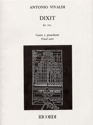 VIVALDI - Dixit Dominus - Sheet Music - di-arezzo.co.uk