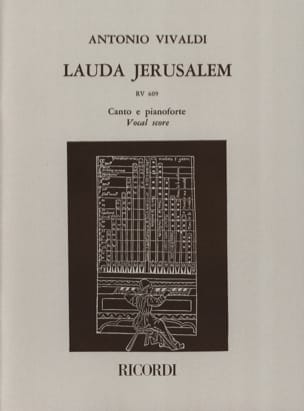Lauda Jerusalem VIVALDI Partition Chœur - laflutedepan