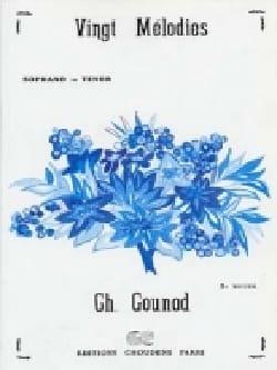 Charles Gounod - 20 Mélodies Volume 2. Voix Haute - Partition - di-arezzo.fr