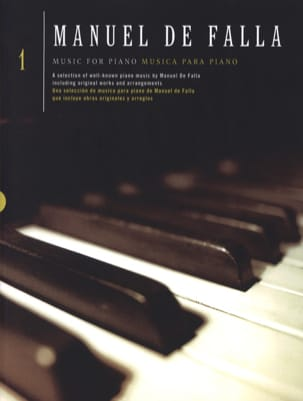 DE FALLA - Piano Music Volume 1 - Sheet Music - di-arezzo.com