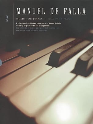DE FALLA - Piano Music Volume 2 - Sheet Music - di-arezzo.co.uk