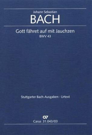 BACH - Gott Fahret Auf Mit Jauchzen BWV 43 - Sheet Music - di-arezzo.com