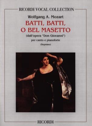 MOZART - Batti, Batti. Don Giovanni - Partition - di-arezzo.fr