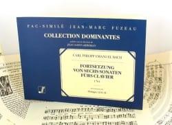 Carl-Philipp Emanuel Bach - Fortsetzung Von 6 Sonaten Für Clavier - Partition - di-arezzo.fr