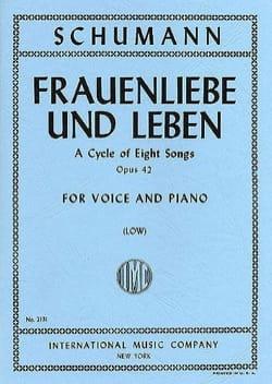 SCHUMANN - Frauenliebe Und Leben Opus 42. Serious Voice - Sheet Music - di-arezzo.co.uk