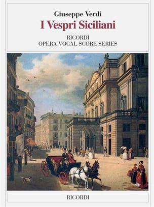 Giuseppe Verdi - I Vespri Siciliani - Partition - di-arezzo.fr