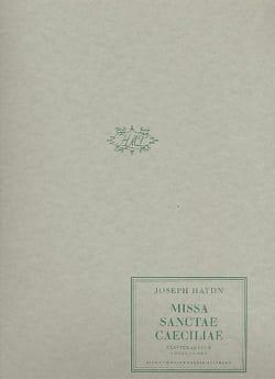 Missa Sanctae Caecilae. Ceacilienmesse. Hob 22-5 - laflutedepan.com