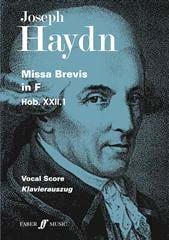 Missa Brevis En Fa Majeur - Joseph Haydn - laflutedepan.com