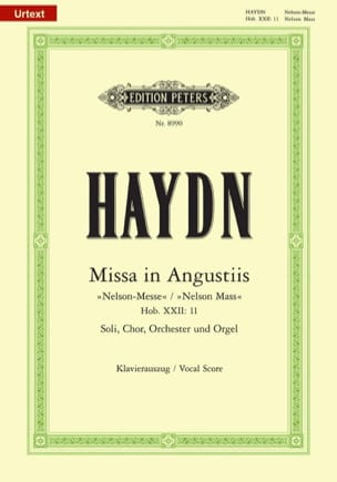 HAYDN - Missa In Angustiis Nelson-Messe Hob 22-11 - Sheet Music - di-arezzo.com