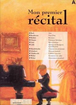- Mon Premier Récital Volume A - Partition - di-arezzo.fr
