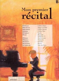 - Mon Premier Récital Volume B - Partition - di-arezzo.fr