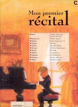 - Mon Premier Récital Volume C - Partition - di-arezzo.fr