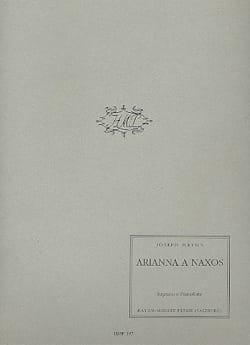Joseph Haydn - Arianna A Naxos - Partition - di-arezzo.fr