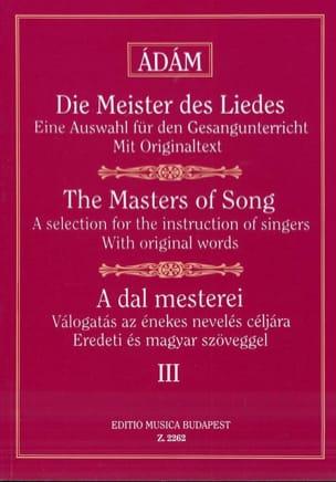 A Dal Mesterei Volume 3 - Partition - Mélodies - laflutedepan.com