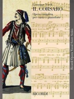 Giuseppe Verdi - Il Corsaro - Partition - di-arezzo.fr