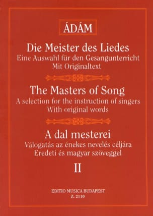 A Dal Mesterei Volume 2 Partition Mélodies - laflutedepan