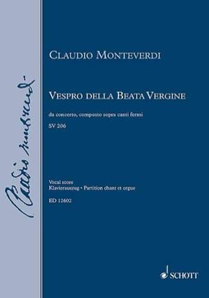 Vespro Della Beata Vergine SV 206 - laflutedepan.com