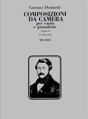 Gaetano Donizetti - Composizioni Da Camera. Volume 2 - Partition - di-arezzo.fr
