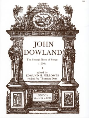 John Dowland - The 2nd Book Of Songs - Partition - di-arezzo.co.uk