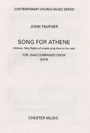 Song For Athene John Tavener Partition Chœur - laflutedepan