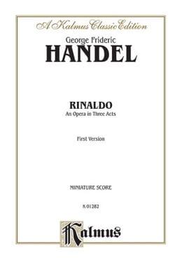 Rinaldo Conducteur - HAENDEL - Partition - laflutedepan.com