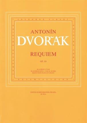 DVORAK - Requiem Opus 89 - Partition - di-arezzo.fr