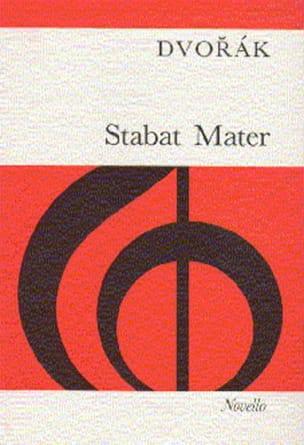 Anton Dvorak - Stabat Mater - Opus 58 - Partition - di-arezzo.fr
