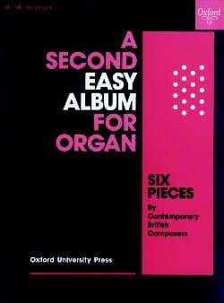 - Second Easy Album For Organ - Sheet Music - di-arezzo.com