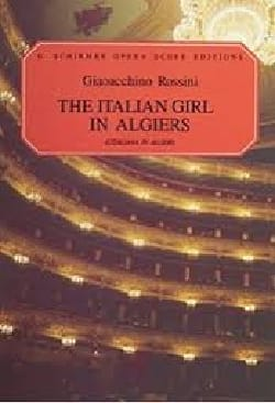 Gioachino Rossini - The italiana In Algeri - Sheet Music - di-arezzo.co.uk